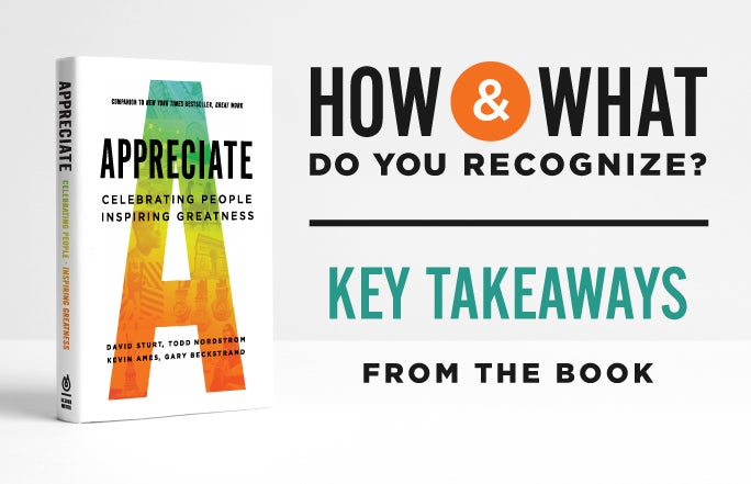 How and what do you recognize? Key takeaways from Appreciate.