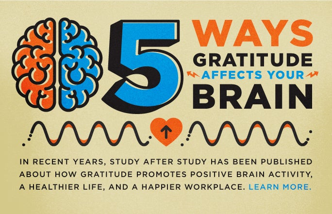 5 Ways Gratitude Affects Your Brain