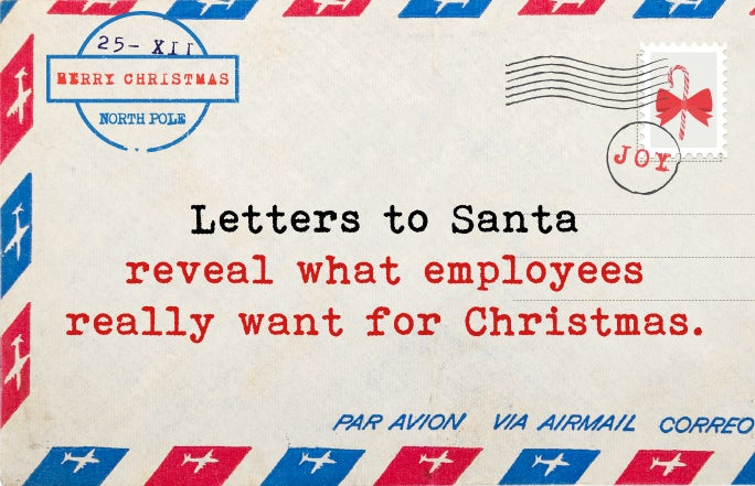 What we want for Christmas – Santa letters from employees