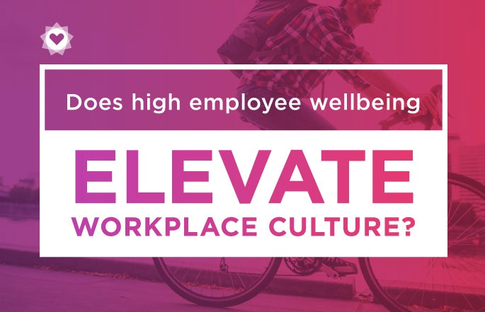 Does high employee wellbeing elevate workplace culture?