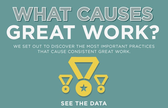 What Causes Great Work
