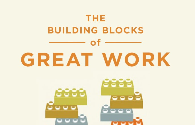 the building blocks of great work