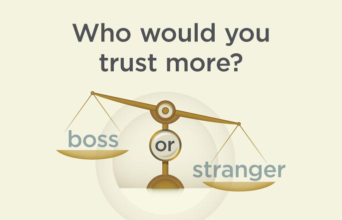 who would you trust more?