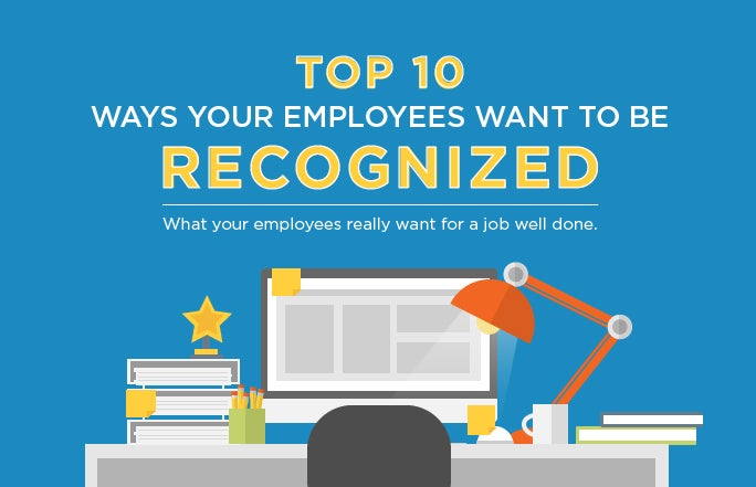 Top 10 Ways Your Employees Want to Be Recognized