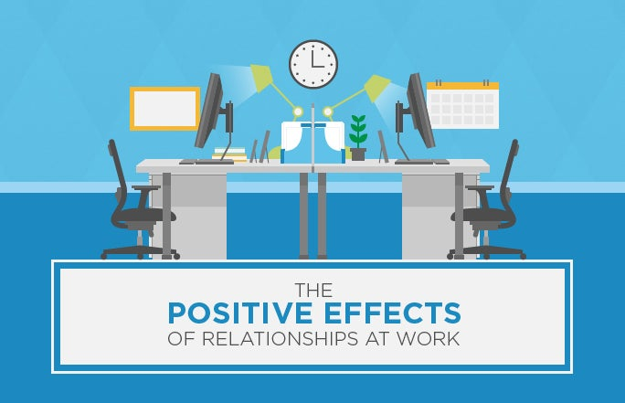 The Positive Effects of Relationships at Work